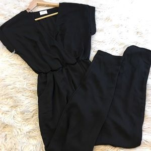 Sienna Sky Black Jumpsuit | size small